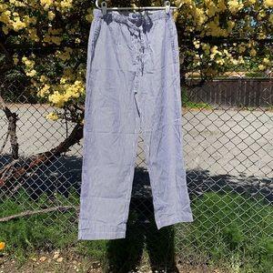 Men's GAP Pajamas Bottoms - Medium Blue & White